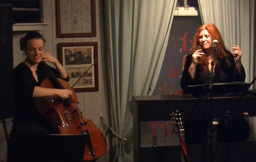 Elisa Herbig and Caroline Waters in Concert